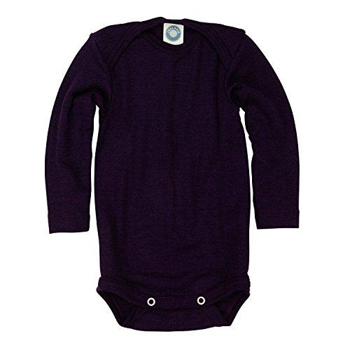 Cosilana Baby Body Wollbody®, Größe 62/68, Farbe Pflaume - Wollbody®GmbH (Body Herren Suit)