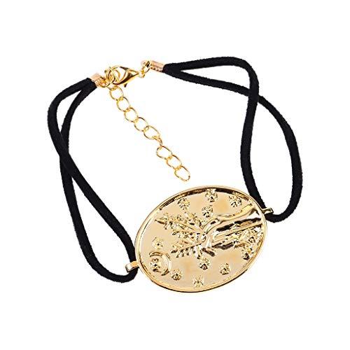 UOWEG Schmuck damen elegante kreative benutzerdefinierte handgemachte armband vergoldet handwerk armreif schmuck