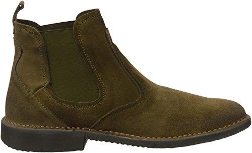49990900dca308 ... El Naturalista Herren Ng24 Lux Suede Kaki Yugen Chelsea Boots Grün  (Kaki)