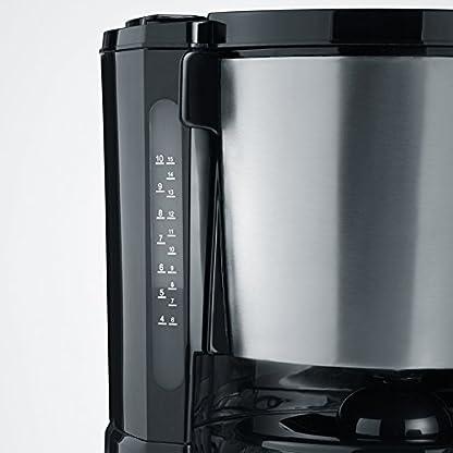 Severin-KA-4496-Kaffeemaschine-edelstahl-gebrstet-schwarz-Zertifiziert-und-Generalberholt