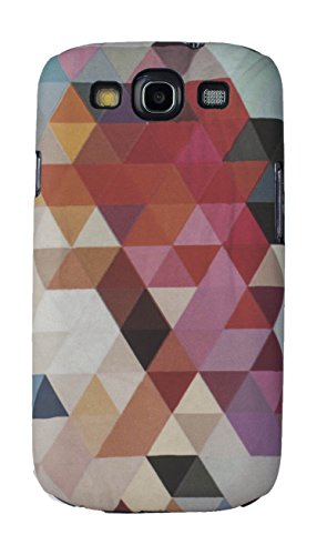 Sun Mobisys™; Samsung Galaxy S3 I9300 Back Cover; Touch feel Embossed Printed Back Case for Samsung Galaxy S3 I9300 - GEOMETRIC  available at amazon for Rs.149