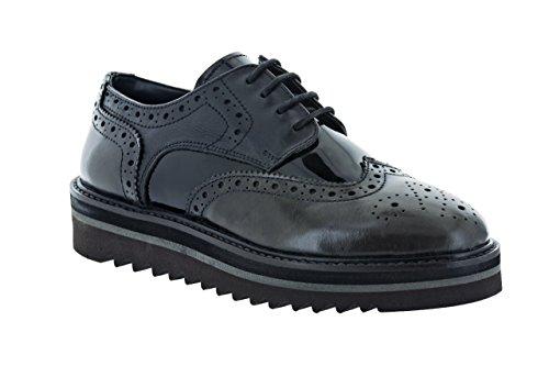 Chaussures de Ville SALMAGODI Femme 95-2774 Gris/Noir