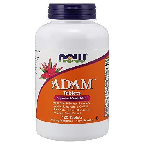 Now Foods, Adam Men Superior Multi, Multivitamine (für den Mann), 120 Tabletten, vegetarisch, glutenfrei, ohne Gentechnik