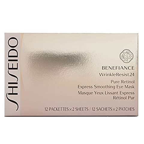 Shiseido Benefiance Wrinkle Resist 24 Pure Retinol Express Smoothing Eye Mask