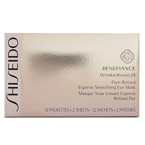 Shiseido Benefiance WrinkleResist24 esprimere levigante 12 pezzi di occhio maschera