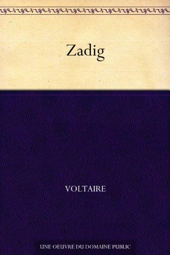 Couverture du livre Zadig