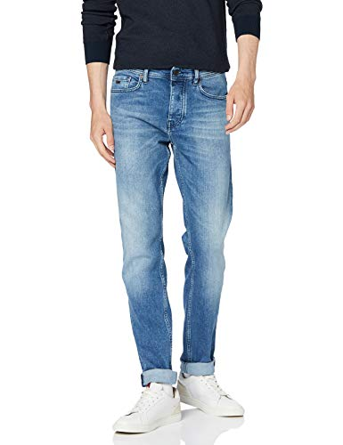 BOSS Herren Taber Bc Tapered Fit Jeans, Blau (Bright Blue 436), 33W / 32L