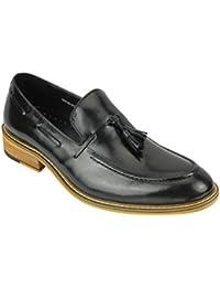 Xposed Zapatos de Cordones de Piel Sintética Para Hombre nnegro/Marrón