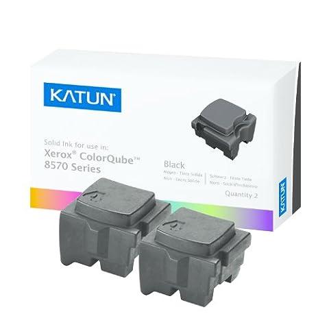 Katun 39400 Encre solide NOIR compatible avec les imprimantes XEROX ColorQube 8570
