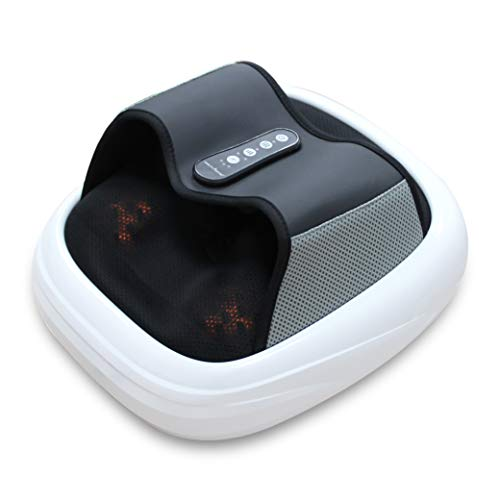 Health Sense LM 330 Heal-Touch Pro Acupressure and Shiatsu Foot Massager (White) with Air Pressure