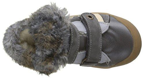 Babybotte Artiwiniefl, Chaussures avec Fermeture Velcro Garçon Gris (421 Gris)