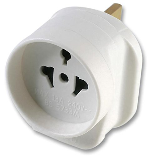 ALL CONTINENTS TO UK TRAVEL ADAPTOR PE01128 By