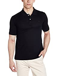 Louis Philippe Mens Polo (8907545000170_LPKP1M00949_M_Black)