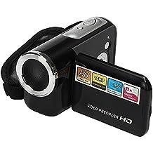 Videocámara, Damark(TM) Mini Portátil LCD 1.5 Pantalla HD 16MP 8X Digital Zoom 720P 30 FPS Anti-vibración Grabador de Vídeo Digital Cámara Videocámara Digital DV DVR
