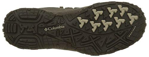 Columbia Herren Peakfreak Venture Low Suede WP Trekking-& Wanderhalbschuhe Grau (Major/ Ancient Fossil)