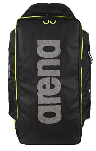 arena Unisex Triathlon Rucksack Fast Tri (Wasserabweisend, Breite Gurte, Rückenpolster, 70x38x31cm), Fluo Yellow (53), One Size -