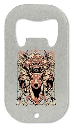 d6627f94b204 Animal Tribe Deer Skull Bears Predator Out Blood Crown Bottle Opener