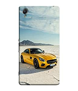 Fuson Designer Back Case Cover for Sony Xperia Z4 Compact :: Sony Xperia Z4 Mini (Driving Fast Racing Wheels Luxury car)