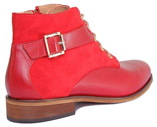 Justin Reece Mila, Sandales Pour Femme red