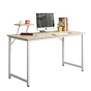 soges Bureau d'ordinateur Table 100x50cm Informatique Meuble de bureau pour Ordinateur pour salle à manger, salon, cuisine WK-JK100-MO