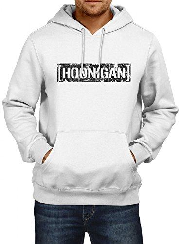 Hoonigan #1 Vintage Premiumhoodie |Gymkhana Hoodie |Hoonicorn | Ken Block, Farbe:Schwarz;Größe:3XL