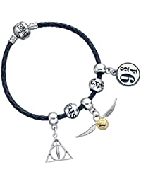 Pulsera Harry Potter, emblemas. The Carat Shop