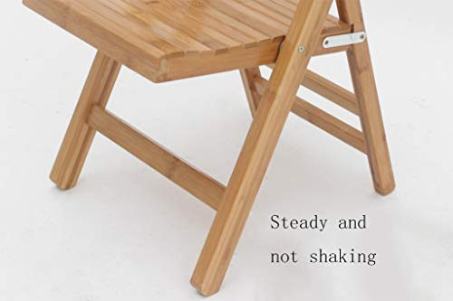 Sgabello In Legno Pieghevole : Lyx® sedia pieghevole poltroncina panchina piccola balcone stile