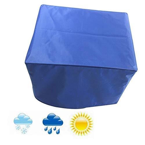 LITINGFC-Gartenmöbel Abdeckung Staubschutzhaube UV Resistent Außenterrasse Tischdecke Einfach Gefaltet Zu Werden Wasserdichtes Oxford-Tuch, 27 Größen (Color : Blue, Size : 96x40x73cm)