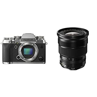 Fujifilm X-T2 - Cámara sin espejo de óptica intercambiable de 24,3 MP, grafito - solo el cuerpo + Fujifilm Fujinon XF 10-24 mm f:4 R OIS - Objetivo, estabilizador óptico, negro (B079LPLRNV) | Amazon price tracker / tracking, Amazon price history charts, Amazon price watches, Amazon price drop alerts