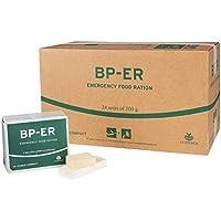 Compact Rieber BP ER Elite Emergency Food 24 x 500 gram Unit Comida a Largo Plazo para Exteriores, campamentos y en situaciones de Crisis (sin BPA y Halal)