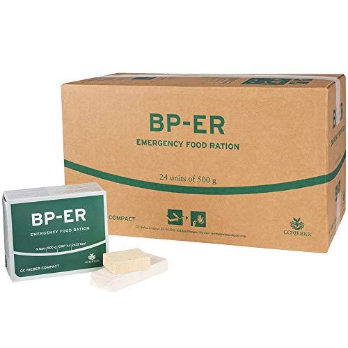 BP ER Elite Emergency Food 24 x 500 Gramm Einheit Langzeitnahrung - Produkt BPA-Frei und hermetisch versiegelt (neue Charge 2020 nur beim Händler Lebenskraft)