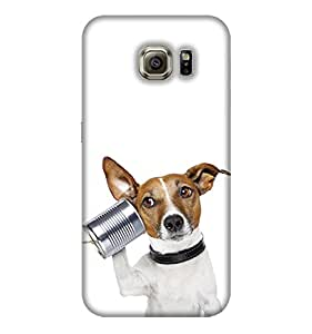 Dog Samsung Galaxy S8 mobile back cover