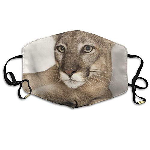 Unisex Cougar Lion Washable Anti-Pollution Breathable Health Masks Mouth Face Mask -