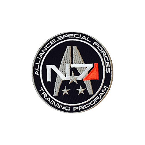 REAL EMPIRE Echt Empire N7Allianz Special Forces Video Game Iron On Patches Sew auf Buttons bestickt Patch