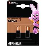 takestop® MN21 2 BATTERIE Batteria PILA Pile ALCALINA Alkaline 12V 2019 A23 V23GA 3LR50