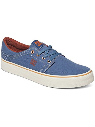 DC Shoes Trase Tx, Baskets mode homme VINTAGE INDIGO