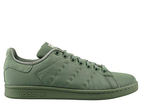 adidas Stan Smith W, Sneaker a Collo Basso Donna Verde (Trace Green/Trace Green/Trace Green)