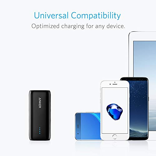 Anker Astro E1 5200mAh Mini Externer Akku Power Bank USB Ladegerät mit PowerIQ für iPhone 6s, 6, 6s Plus, Galaxy S6 S5 und weitere (Schwarz) - 8