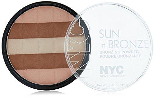 NYC Sun N Bronze Bronzing Powder Hamptons Radiance (Bronzer Nyc Cosmetics)