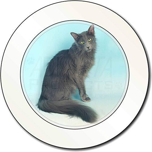 Advanta - Tax Disc Holders Silver Grey Javanese Katze AutovignetteGenehmigungsinhaber Geschenk -