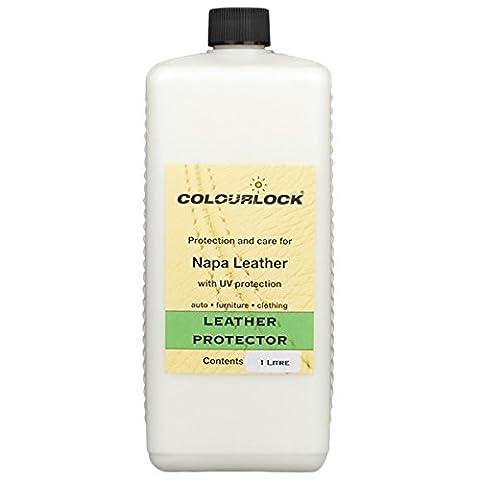 Colourlock Leather Protector Protège Nourrit, crème, restaurateur pour intérieur en cuir de voiture, meubles, sacs et vêtements