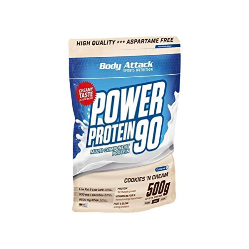 Power Protein Cookie (Body Attack Power Protein 90-500g Cookies n Cream)