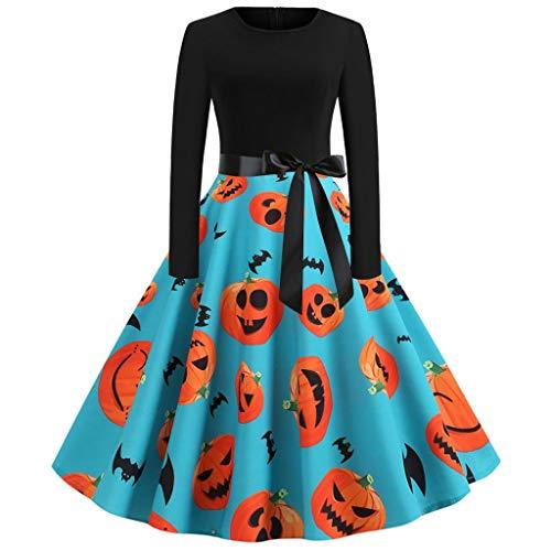 Schnell Und Einfach Selbstgemachte Kostüm - Damen Halloween Kleider Party Kleid Abend