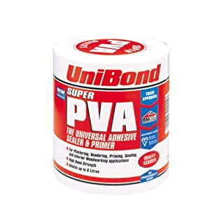 Unibond Super PVA Adhesive Sealer Primer Can - 1 L