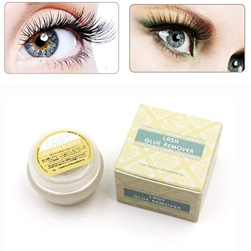Allbestaye Eyelash Glue Remover Cream Non-Irritating Safe Lash Extension...