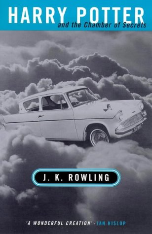 Book cover for Harry Potter and the Chamber of Secrets