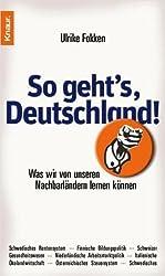 So geht's, Deutschland!