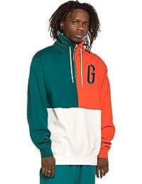 Grimey Sudadera Midnight G Logo High Neck Sweatshirt SS19 Green b8df7bf8b93