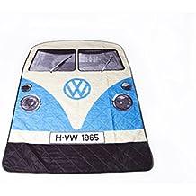The Monster Factory - Alfombra de pícnic, diseño de furgoneta Volkswagen