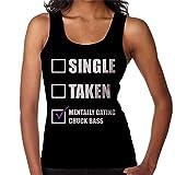 Mentally Dating Chuck Bass Women's Vest